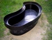 Изготовление чаш для пластиковых садовых прудов и водоемов Киев